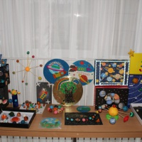 Фотоотчет о творческих работах «Я мечтаю о космосе!»