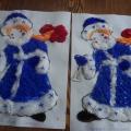 Поделка снегурочка из ваты своими руками