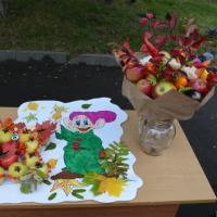Фотоотчет об участии детей в городском конкурсе «Яблочные истории»