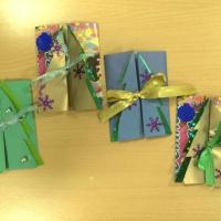 Детский мастер-класс «Новогодняя открытка»