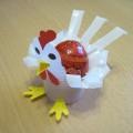 Мастер-класс. Подставка для пасхального яйца «Курочка»
