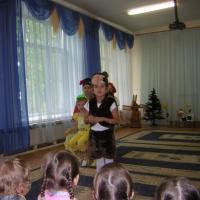 Фотоотчет театрализованной постановки сказки «Репка»