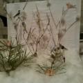 Макет для уголка природы «Зимний лес»