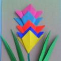 Мастер-класс: первоцвет «Радужный гиацинт», аппликация с элементами оригами