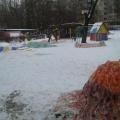 Фотоотчёт: зимние постройки на участке детского сада «Путешествие в Африку»