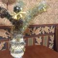 Мастер-класс «Новогодняя ваза с колокольчиками»