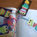 «Книжный червячок». Закладка в подарок бабушке