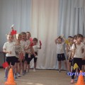 Спортивное развлечение для детей средней группы «Осенние веселые старты»