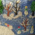 Коллективная работа «Забавные снеговички»