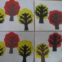 Конспект НОД по аппликации «Кудрявые деревья» в подготовительной группе
