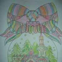 Фотоотчет о художественном творчестве детей «Новогодние шары и символ года»