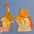 Мастер-класс «Изготовление фигурок для театра по сказке «Лиса и журавль» (средняя группа детского сада)