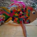 Мастер-класс «Чудо-рыбка» из бросового материала