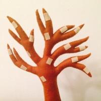 Развивающая игра из фетра «Сезонное дерево»