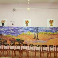 Оформление музыкального зала в детском саду для проведения осенних утренников