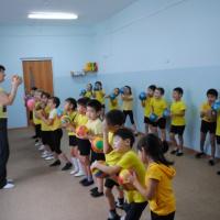 Спортивное развлечение для подготовительной группы «Дружба с мячом»
