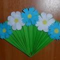 Мастер-класс по изготовлению поделки «Полевые цветы для мамочки»