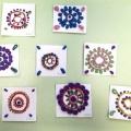 Отчет о занятии по рельефной декоративной лепке «Чудо-цветок» для детей среднего дошкольного возраста