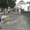 Сценарий спортивного развлечения «Весёлые старты» для детей старшего дошкольного возраста.