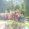 Фотоотчет о летнем развлечении «Сказка про Фею, Кощея, Бабу-ягу и ее помощника Кота»