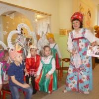 Фотоотчет о проведении праздника «Святки, колядки».