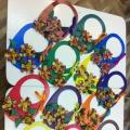 Мастер-класс «Корзина с цветами для мамы». Старший дошкольный возраст.