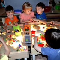Конспект коррекционно-развивающего занятия для детей старшего дошкольного возраста «Путешествие в песочную страну»
