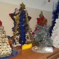 Фотоотчет по новогодним поделкам «Елка, елочка— зеленая иголочка»