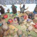 Выставка поделок из природного материала. Фотоотчет