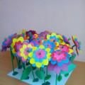 Мастер-класс «Волшебная полянка». Изготовление цветов из коктейльных трубочек. Предназначен для детей 4–5 лет