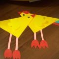 «Цып, цып, цып, мои цыплятки». Мастер-класс