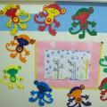 «Радужные обезьянки». Мастер-класс поделки из картона в технике «объемная аппликация»