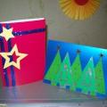 «Идеи новогодних открыток». Мастер-класс (часть 2)