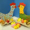«Курочка»— подставка для пасхальных яиц. Детский мастер-класс