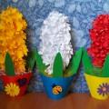 «Гиацинт-цветок дождя». Мастер-класс в технике «объемного моделирования»