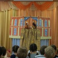 Конспект непосредственной образовательной деятельности для детей подготовительной группы «Волшебный мир театра»