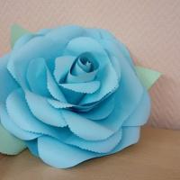 Мастер-класс по созданию объемного цветка из бумаги