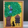 «У лукоморья дуб зелёный». Фотоотчёт творческой деятельности детей (старшая группа)
