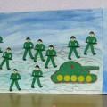 Подготовка и празднование Дня защитника Отечества в средней группе (фотоотчёт)