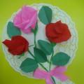Настенная открытка «Цветы для мамы»