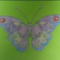 Бабочки в интерьере группы