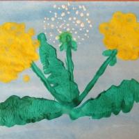 Конспект НОД по рисованию для детей средней группы «Весенние цветы для мамы»