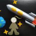 Мастер-класс объемной аппликации «Космические дали»