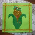Мастер-класс: лоскуток для скатерти «Золотая Кукурузка»