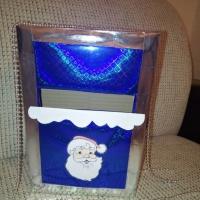 Фотоотчет о поделке для оформления группы «Почтовый ящик для писем Дедушке Морозу»