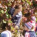 Фотоотчет экскурсии в сад детей группы оздоровительной направленности «Осенняя пора, очей очарование!»
