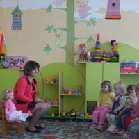Конспект интегрированного занятия по развитию речи «Оладушки для внучки» в группе раннего возраста