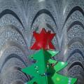 Мастер-класс «Новогодняя ёлочка из картона»