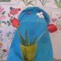 Конспект НОД по рисованию «Цветы в вазе»