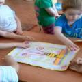 Коллективная работа по изобразительной деятельности для детей средней группы «Салют Победы»